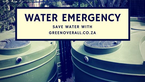 Save Water with Green Overall