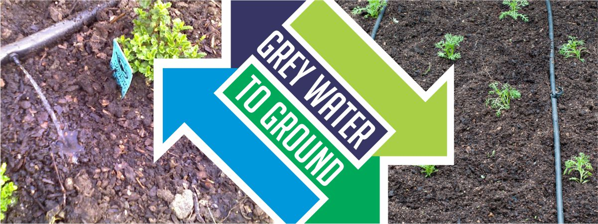 Grey Water to the Ground