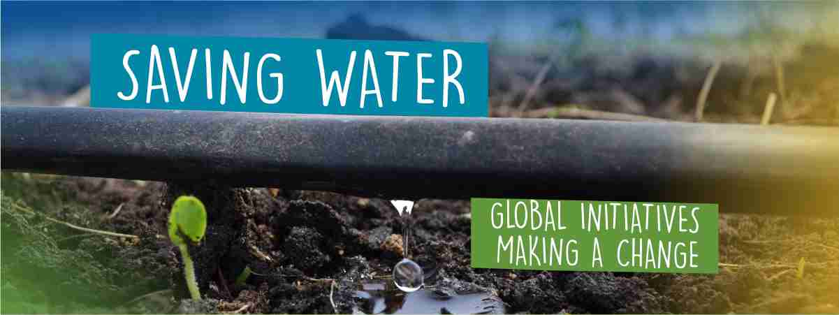 Global Water Saving Initiatives