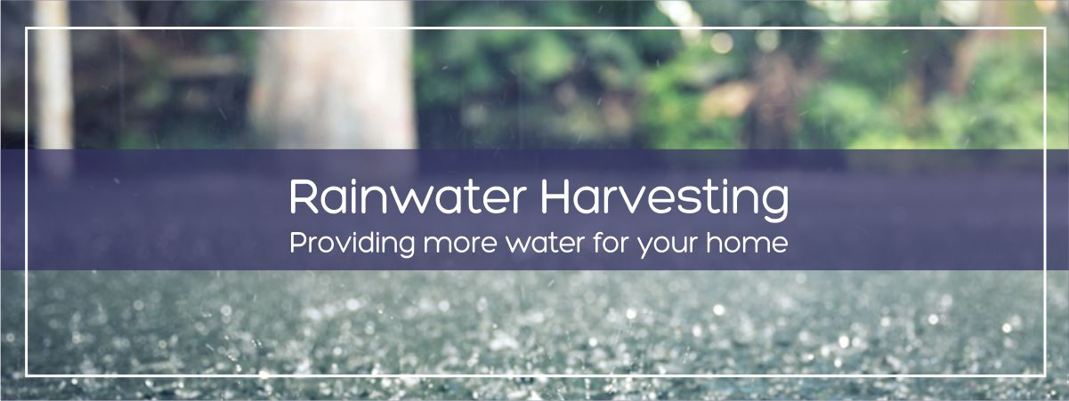 Rainwater Harvesting - Providing more water for your home