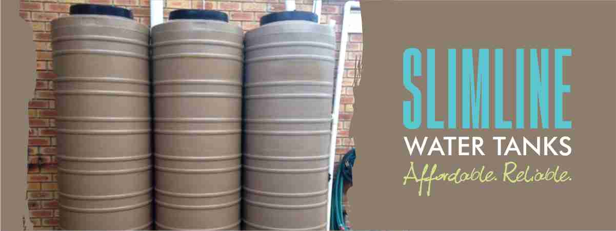 Slimline Water Tank Solution
