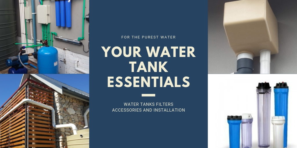Green Overall water filters water tanks rainwater harvesting