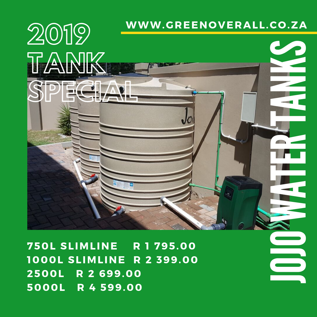 Green Overall water tank special