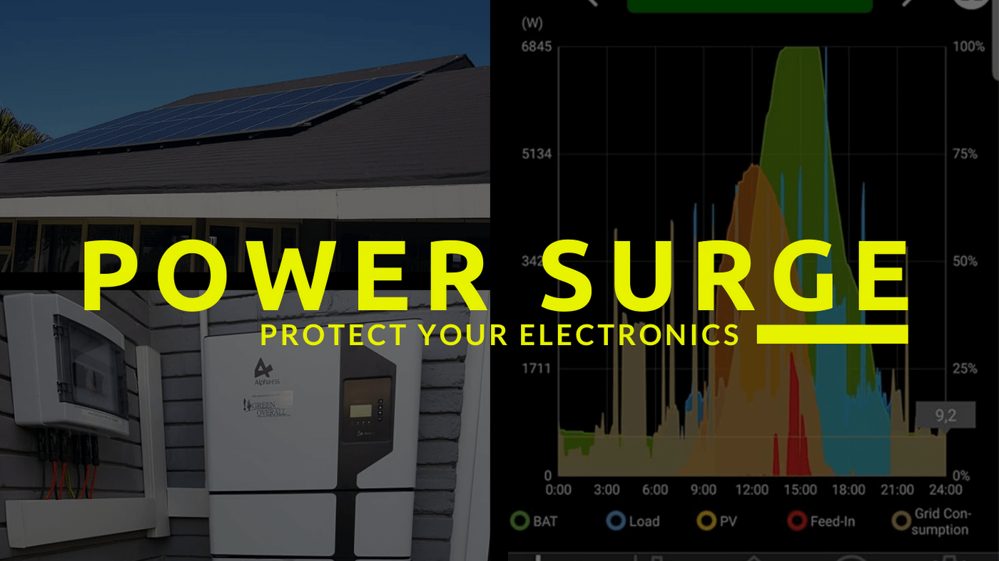 How to keep your electronics safe during load shedding. Alternative power, off grid systems
